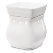 CLASSIC CURVE GLOSS WHITE SCENTSY WARMER