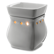 CLASSIC CURVE GLOSS GRAY SCENTSY WARMER