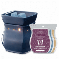CLASSIC CURVE NAVY SCENTSY WARMER GIFT BUNDLE