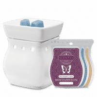 CLASSIC CURVE WHITE SCENTSY WARMER GIFT BUNDLE