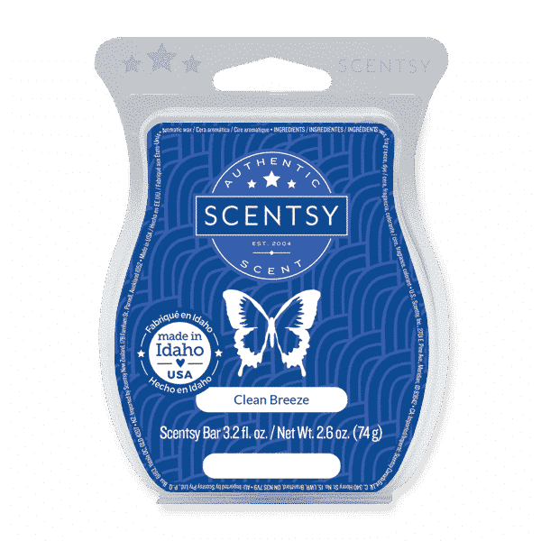 CLEAN BREEZE SCENTSY BAR