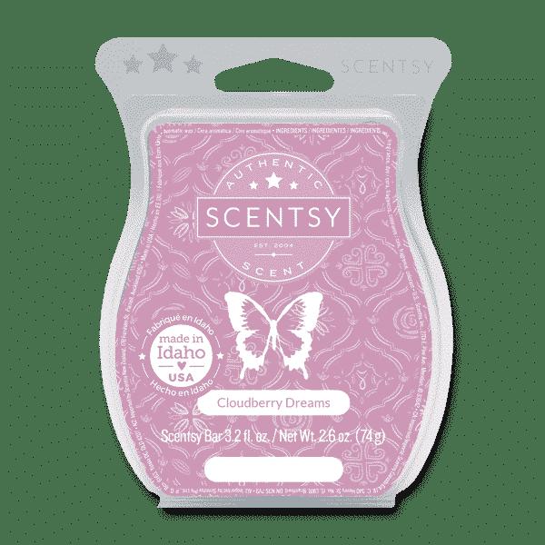CLOUDBERRY DREAMS SCENTSY BAR | CLOUDBERRY DREAMS SCENTSY BAR | Incandescent.Scentsy.us