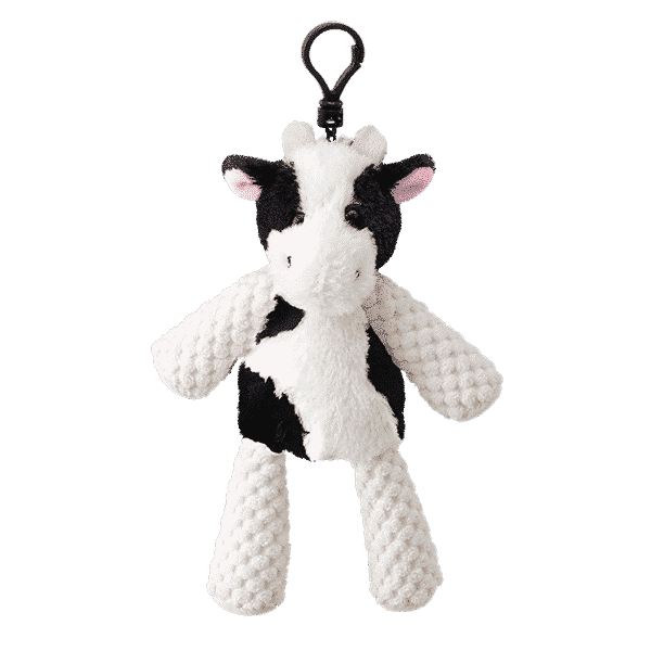 CLOVER THE COW SCENTSY BUDDY CLIP | CLOVER THE COW SCENTSY BUDDY CLIP + BLACK RASPBERRY VANILLA