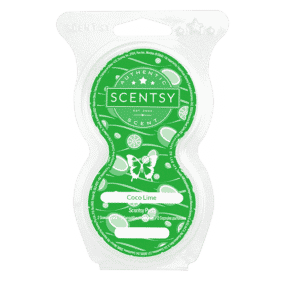 COCO LIME SCENTSY PODS