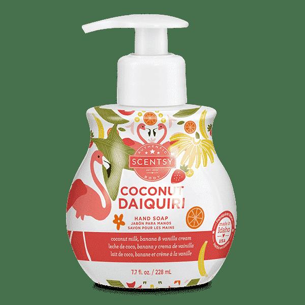 COCONUT DAIQUIRI SCENTSY HAND SOAP