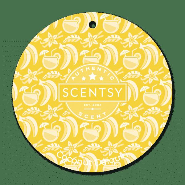 COCONUT DAIQUIRI SCENTSY SCENT CIRCLE