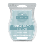 COCONUT FLOWER BRING BACK MY SCENTSY BAR JULY 2018