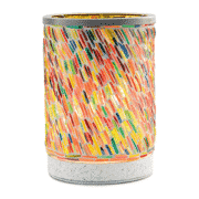 COLORS OF THE RAINBOW LAMPSHADE SCENTSY WARMER | DISCONTINUED