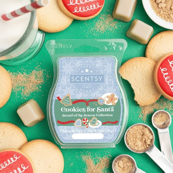 COOKIES FOR SANTA SCENTSY BAR