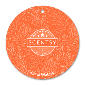 CORAL WATERS SCENTSY SCENT CIRCLE
