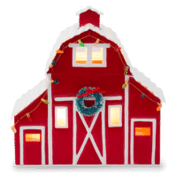 COUNTRY CHRISTMAS RED BARN SCENTSY WARMER