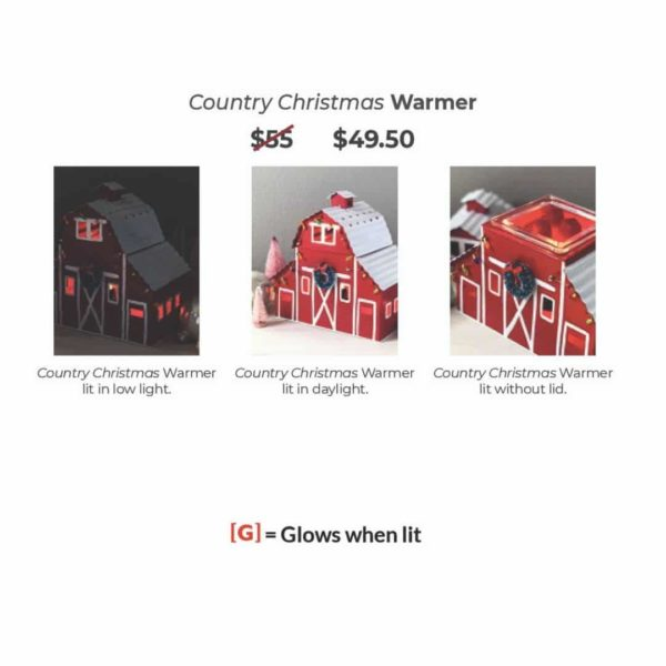 COUNTRY CHRISTMAS SCENTSY BARN IN REAL LIFE PHOTOS