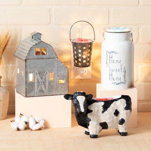 COUNTRY HOME DECOR SCENTSY WARMERS
