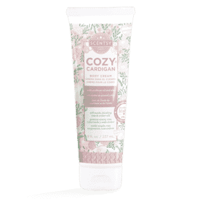 COZY CARDIGAN SCENTSY BODY CREAM | Cozy Cardigan Scentsy Body Cream