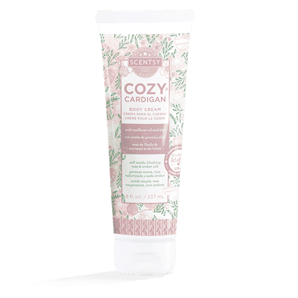 COZY CARDIGAN SCENTSY BODY CREAM