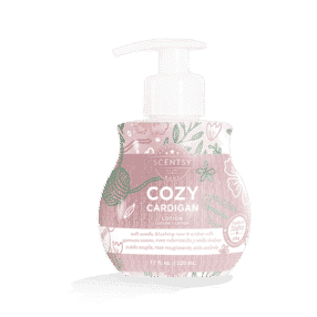 COZY CARDIGAN SCENTSY BODY LOTION