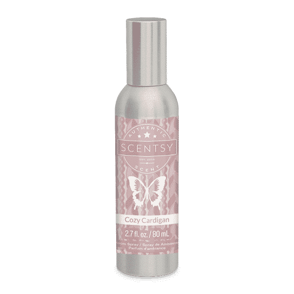 COZY CARDIGAN SCENTSY ROOM SPRAY