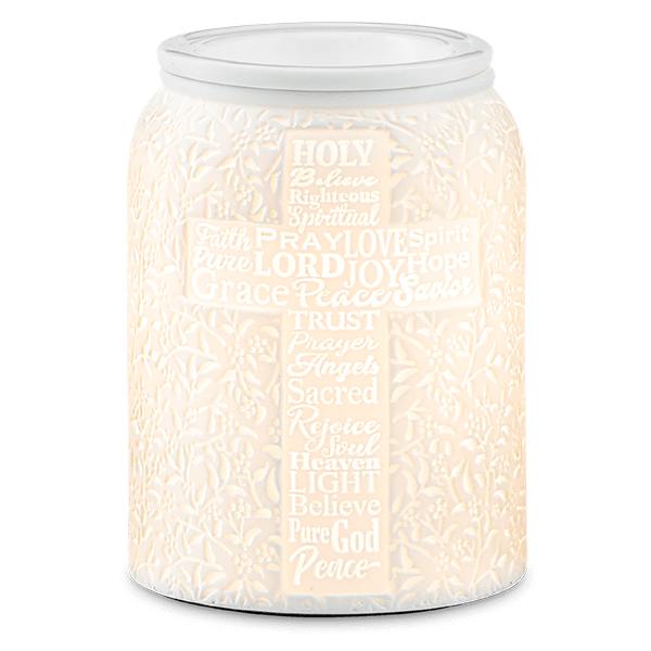 CROSS TRUST IN HIM SCENTSY WARMER
