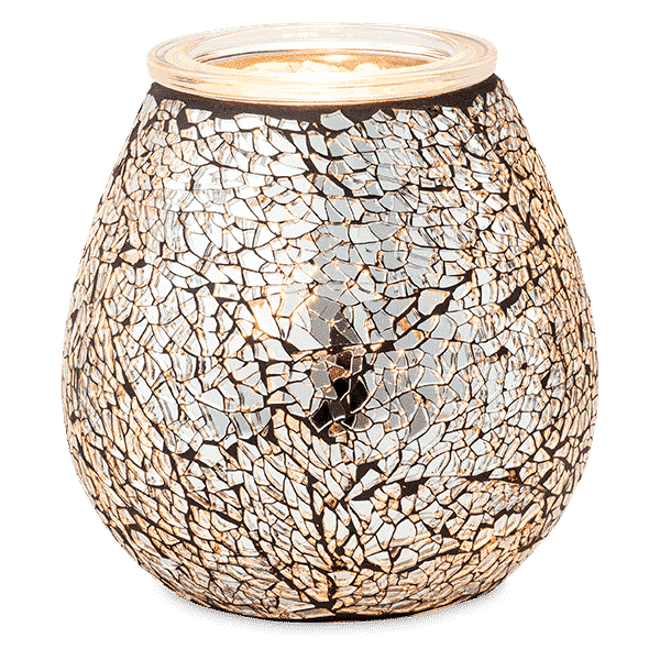 CRUSH DIAMOND SCENTSY WARMER GLOW 1