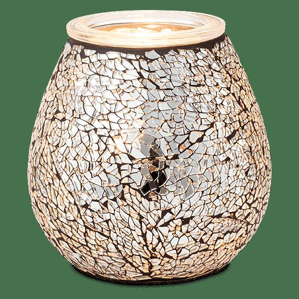 CRUSH DIAMOND SCENTSY WARMER GLOW 1