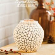 CRYSTAL LEAVES SCENTSY WARMER