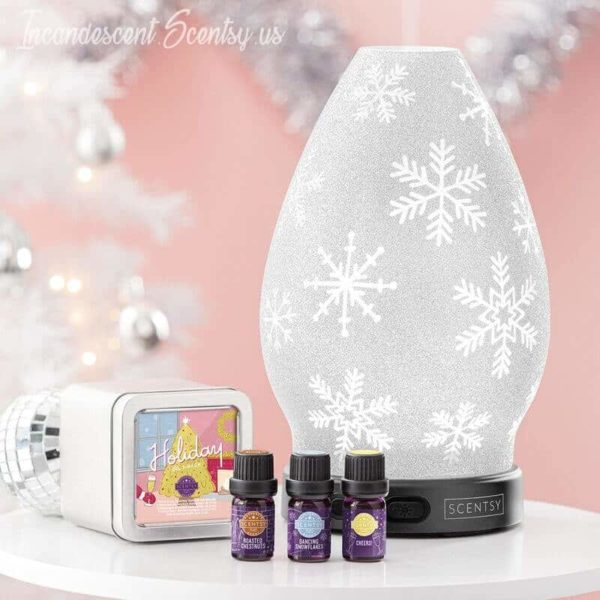 CRYSTALLIZE SCENTSY DIFFUSER WITH OILS   CRYSTALLIZE SCENTSY DIFFUSER - SHADE ONLY
