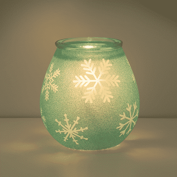 CRYSTALLIZE SCENTSY WARMER BLUE GLOW | CRYSTALLIZE BLUE SCENTSY WARMER | HOLIDAY 2020