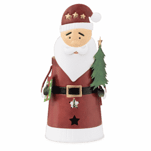 Christmas Claus Scentsy Warmer 03