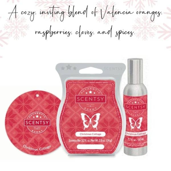 Christmas Cottage Scentsy Fragrance | Christmas Cottage Scentsy Bar | Incandescent.Scentsy.us