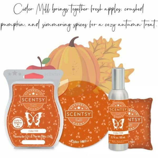 Cider Mill Scentsy Fragrance | Cider Mill Scentsy Bar | Incandescent.Scentsy.us