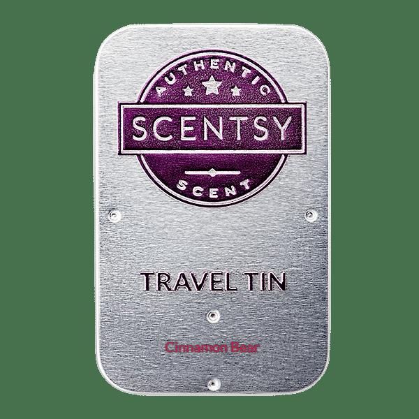 Cinnamon Bear Scentsy Travel Tin | Cinnamon Bear Scentsy Travel Tin