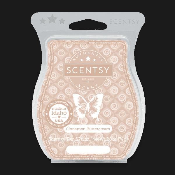 Cinnamon Buttercream Scentsy Bar | New! Cinnamon Buttercream Scentsy Bar | Shop Incandescent.Scentsy.us