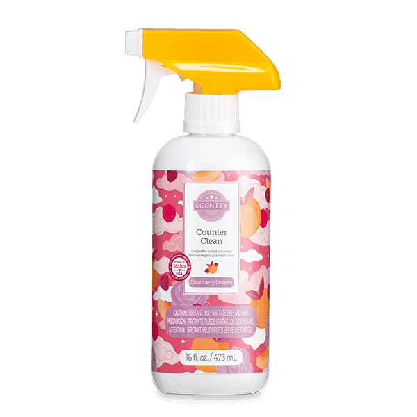 Cloudberry Dreams Scentsy Counter Clean | Cloudberry Dreams Scentsy Counter Clean