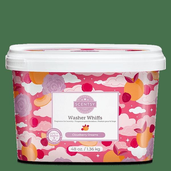 Cloudberry Dreams Scentsy Washer Whiffs Tub | NEW! Cloudberry Dreams Scentsy Washer Whiffs Tub | Incandescent.Scentsy.us