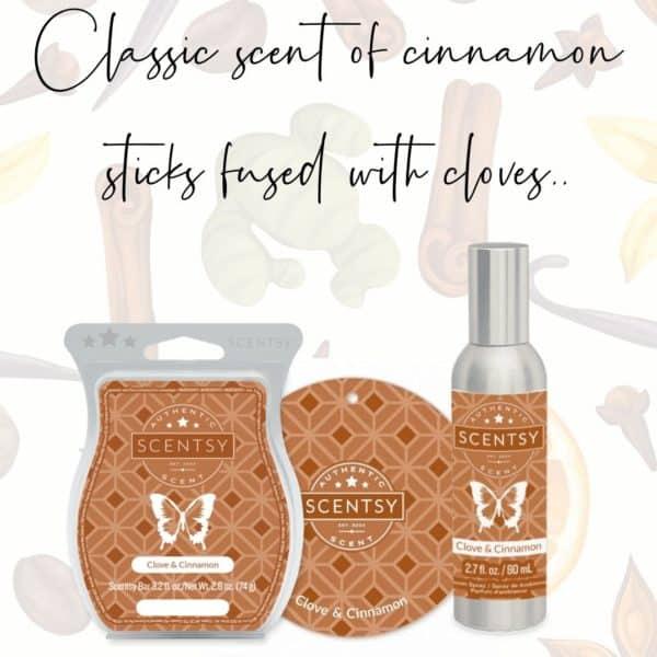Clove Cinnamon Scentsy Fragrance | Clove & Cinnamon Scentsy Bar | Incandescent.Scentsy.us