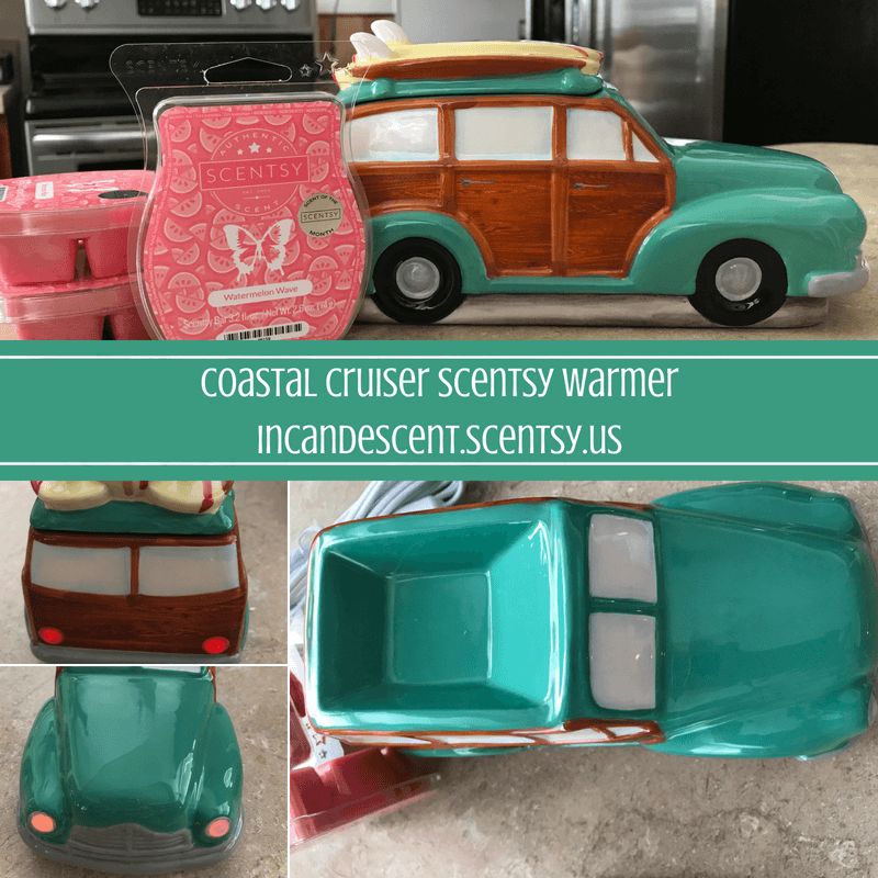 Coastal Cruiser Scentsy Warmer