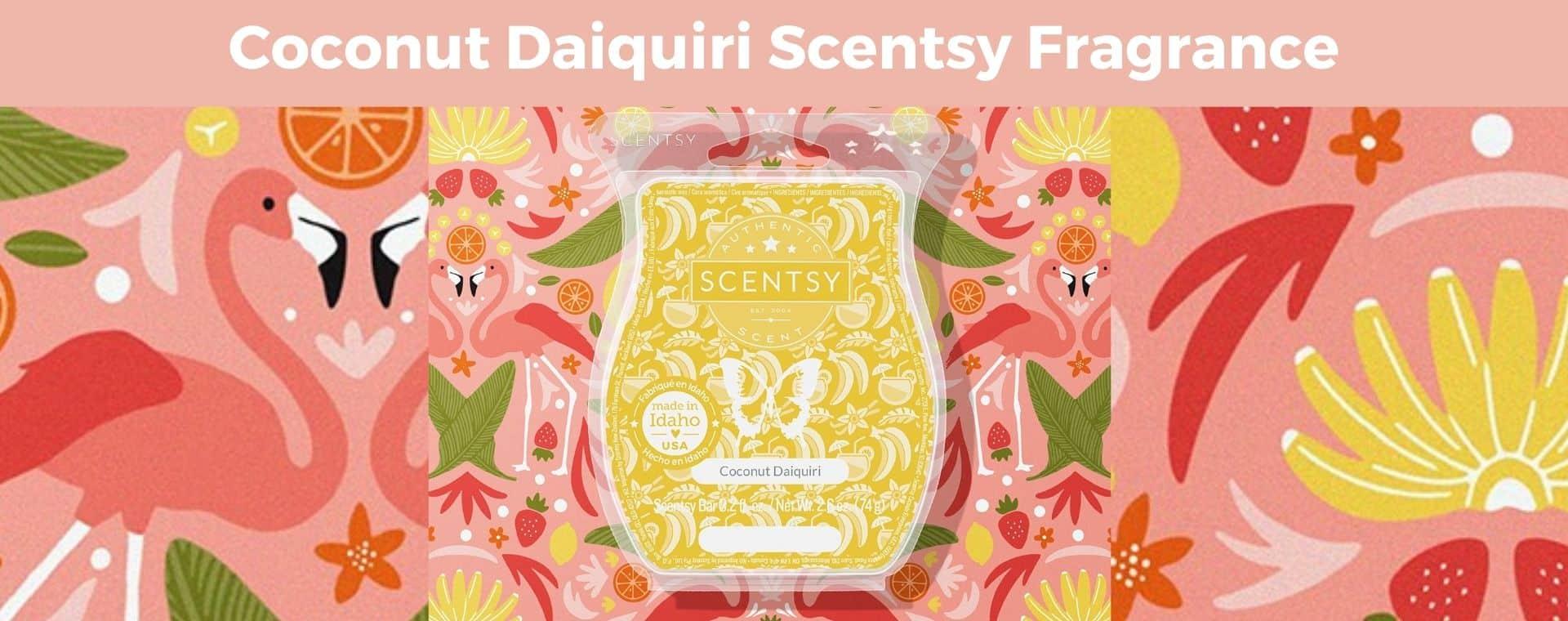 Coconut Daiquiri Scentsy Fragrance