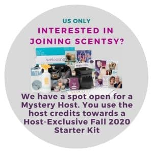 JOIN SCENTSY MYSTERY HOST FALL 2020