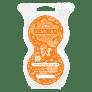 Cranberry Pumpkin Spice Scentsy pods 1