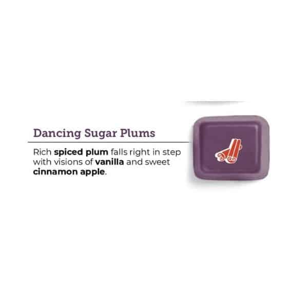 DANCING SUGAR PLUMS SCENTSY FRAGRANCE 1 | NEW! DANCING SUGAR PLUMS SCENTSY SCENT CIRCLE | Shop Scentsy | Incandescent.Scentsy.us