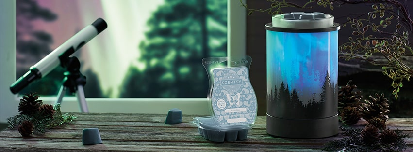 DECEMBER 2020 POLAR PANORAMA SCENTSY WARMER