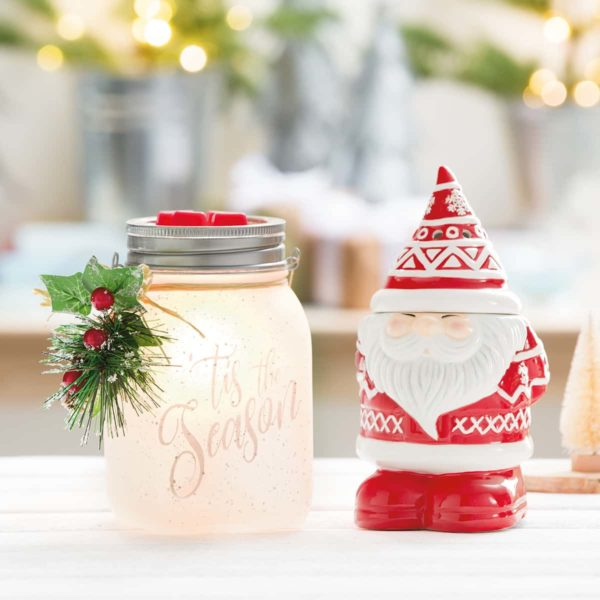 DECK THE HALL SCENTSY WARMER BE JOLLY WARMER