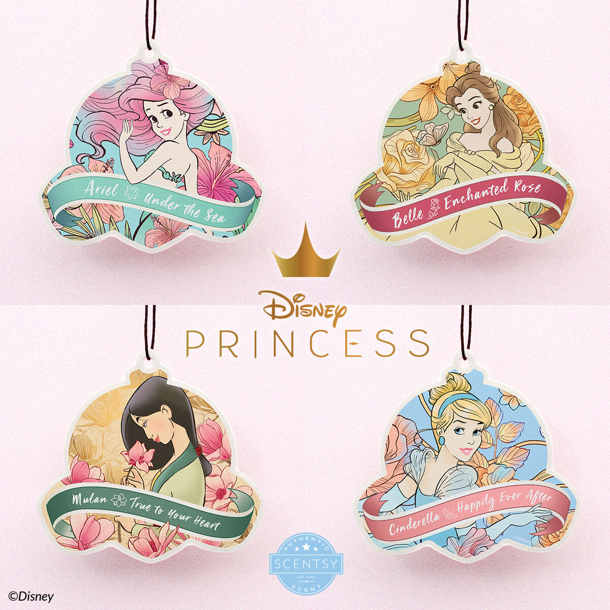 SCENTSY DISNEY PRINCESS SCENT CIRCLES