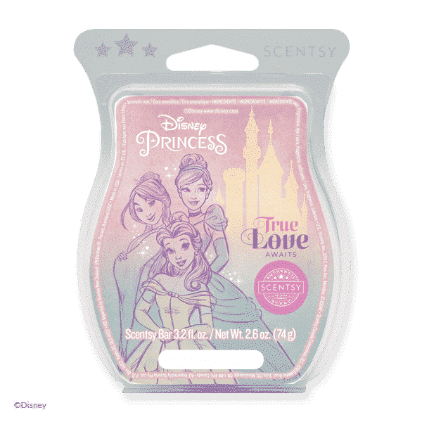 DISNEY PRINCESS TRUE LOVE AWAITS SCENTSY BAR