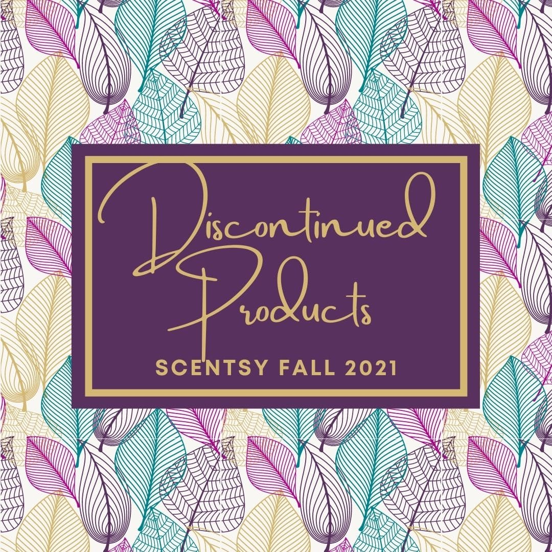 Discontinued Scentsy Fall 2021