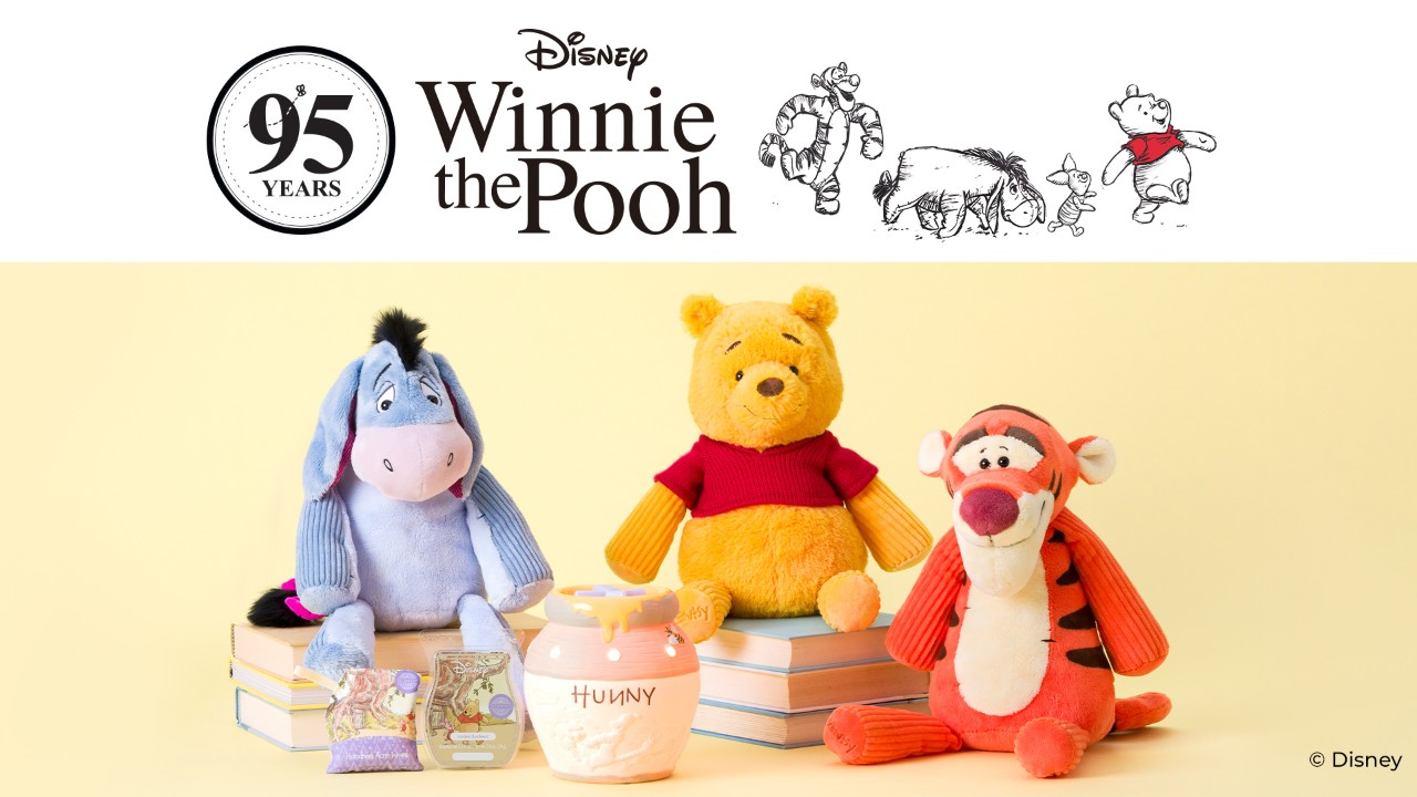Disney Hundred Acre Woods turning 95 Scentsy
