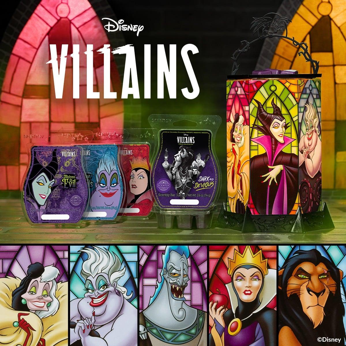 Disney Villains All the Rage Scentsy Warmer & Wax
