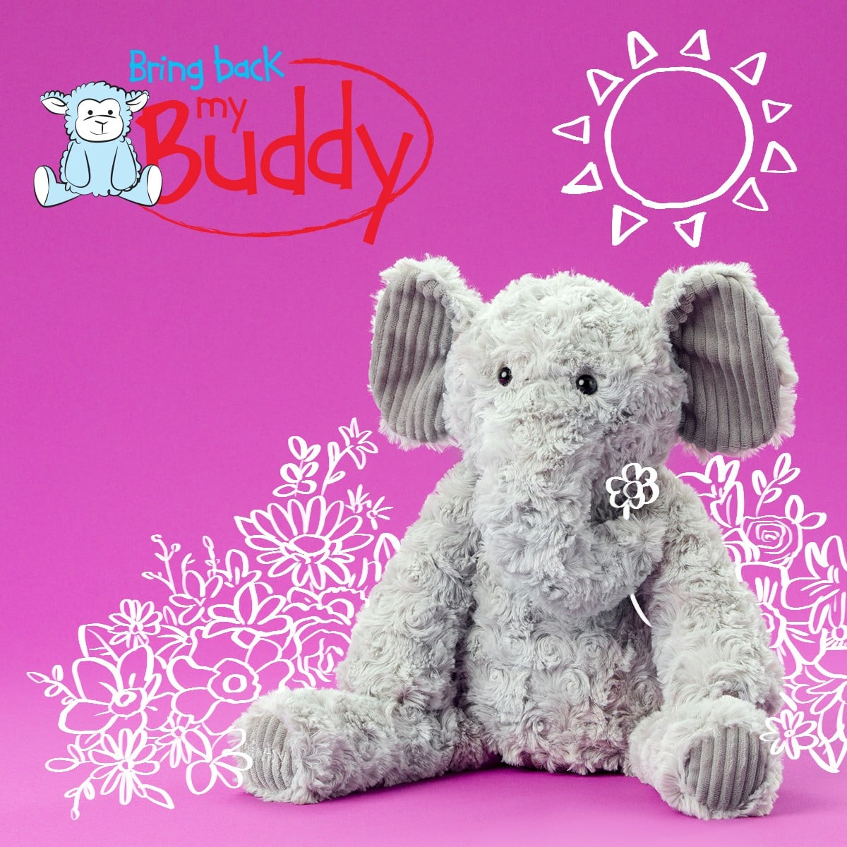 ELIZA THE ELEPHANT BRING BACK MY SCENTSY BUDDY