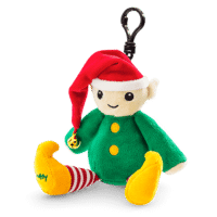 ELLIOT THE ELF + VERY MERRY CRANBERRY SCENTSY BUDDY CLIP