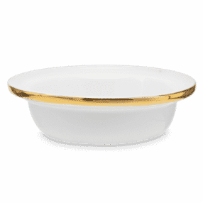 ETCHED CORE GOLD DISH ONLY